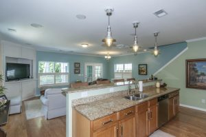 Kitchen & living room at 1762 Towne Street