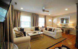 Living room at 211 Haddrell Street