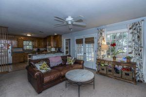 Living room at 829 Jeb Stuart