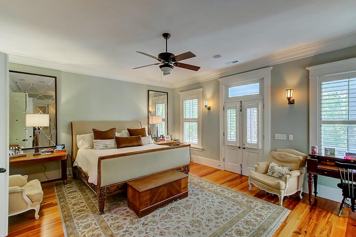 Master bedroom at 30 Hopetown