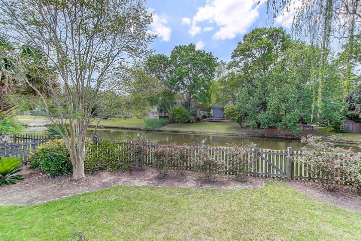 Pond view at 304 Wild Horse Lane