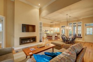 Living room at 5146 Coral Reef Drive
