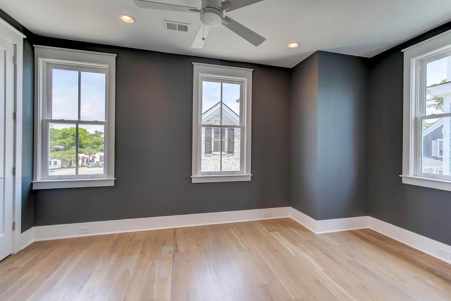 Master bedroom at 414 Rose Wilder Lane