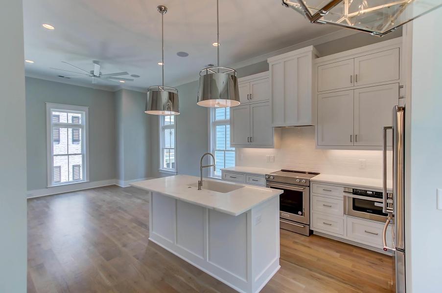 414 Rose Wilder Lane kitchen & living room