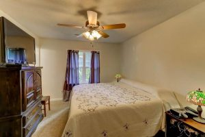 Master bedroom at 1288 Old Colony Road