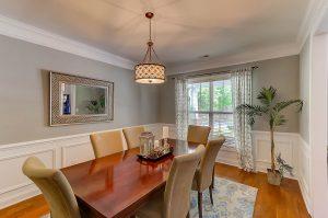 Dining room at 2077 Terrabrook Lane