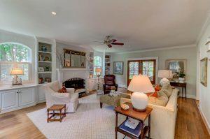 Living room at 813 Pitt Street