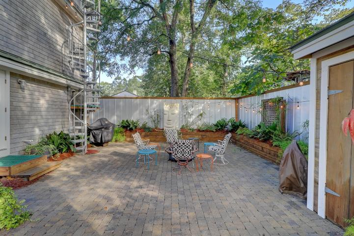 Backyard at 1112 Simmons Street
