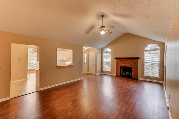 Living room at 529 Beechcraft