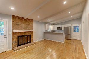 1718 Afton Ave open floor plan