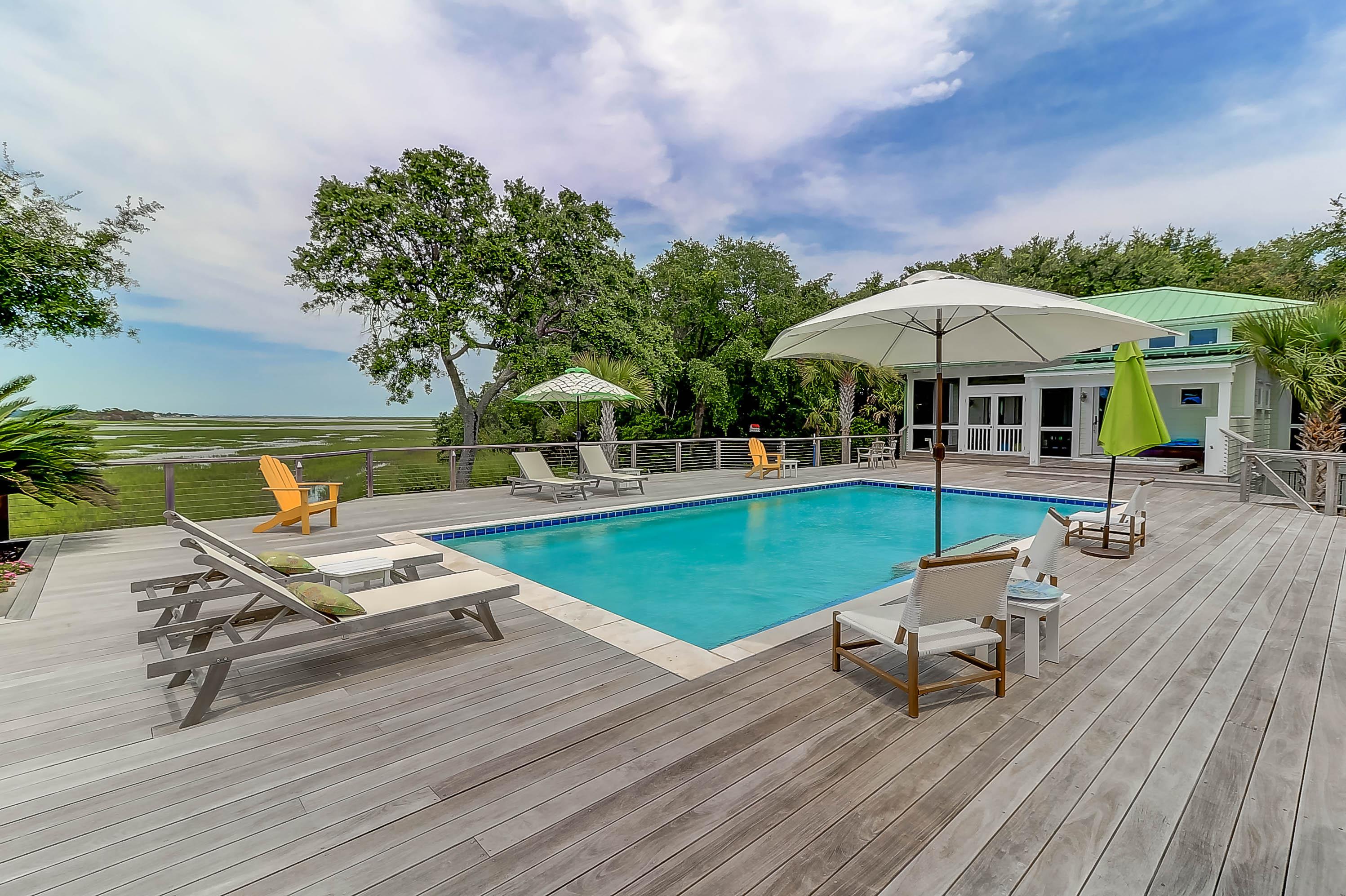 Pool at 1105 Fort Lamar, James Island