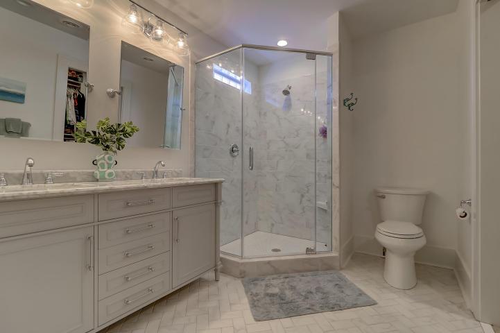 Master bathroom at 237 Gordon Street, Charleston