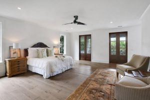 Master bedroom at 1311 Cove Avenue, Sullivans Island