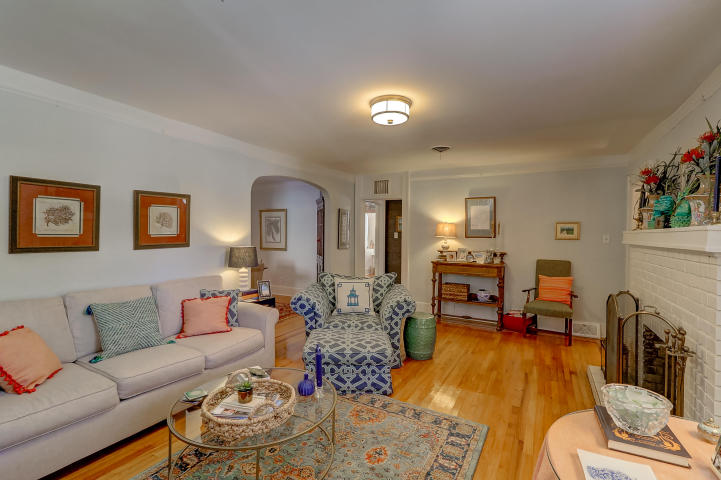 Living room at 237 Gordon Street