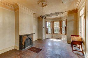 Formal living room at 116 Queen Street, Charleston