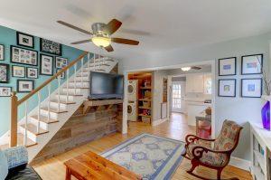 Living room at 2146 Edisto, James Island