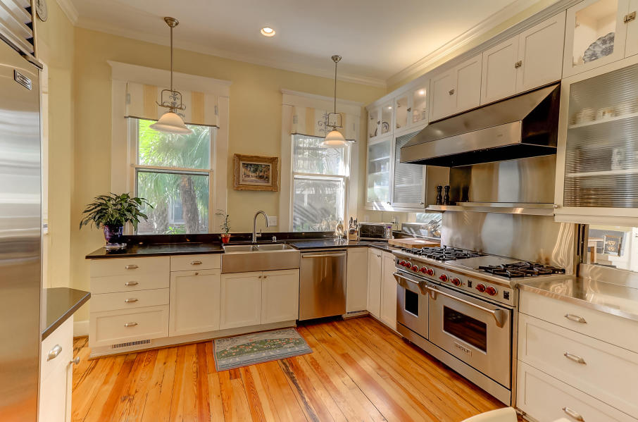 Kitchen at 9 Colonial Street, South of Broad