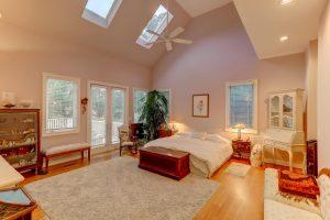 Master bedroom at 3329 River Landing Road, Johns Island