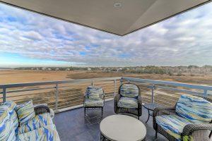 Balcony at 139 Cooper River Drive, Mount Pleasant