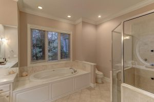 Master bathroom at 3329 River Landing Road, Johns Island