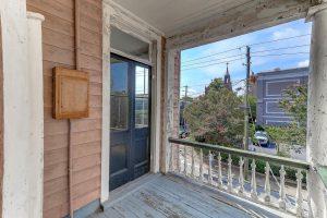 Porch at 116 Queen Street, Charleston