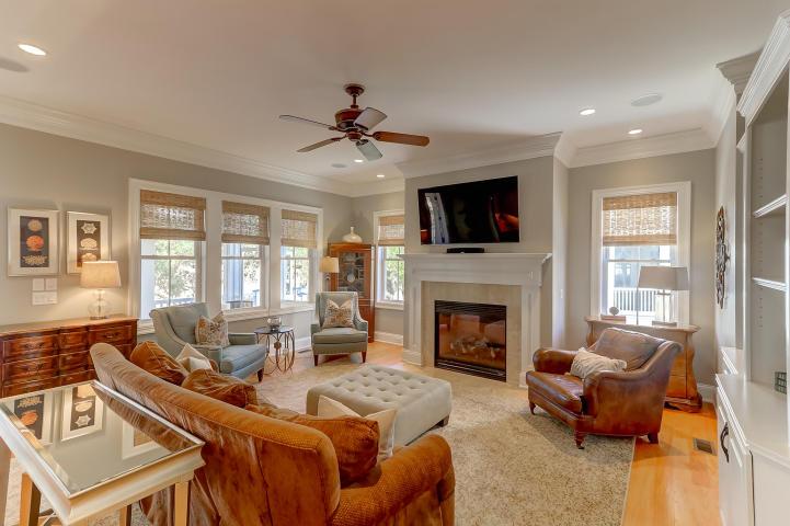 Living room at 851 Dunham Street, Daniel Island