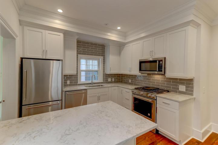 Kitchen at 6 Trumbo, Downtown Charleston
