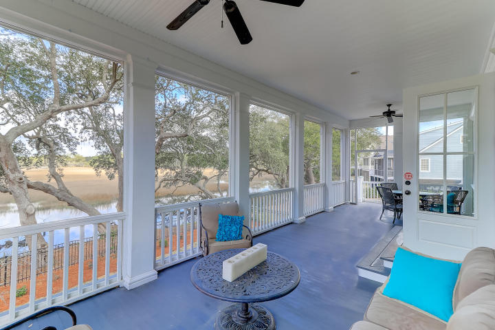 Screened porch at 851 Dunham Street, Daniel Island