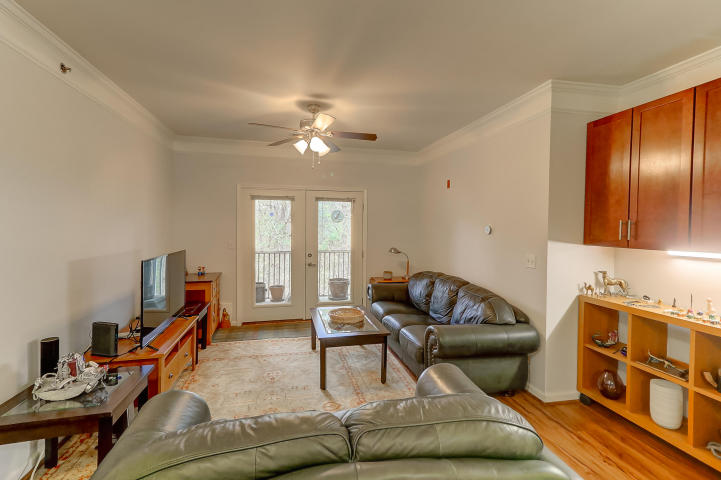 Living room at 1755 Central Park Road #7317, James Island