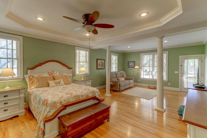 Master suite at 416 Brown Pelican Drive, Wando