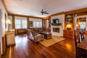 Living room at 204 Station 19, Sullivan's Island