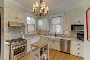 Kitchen at 10 Colonial Street, Downtown Charleston
