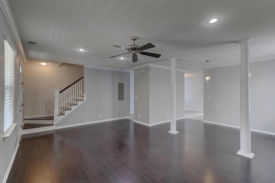 Living room at 1424 Swamp Fox Lane, James Island