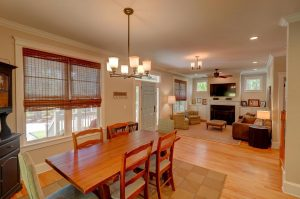 Living/dining room at 3081 Murraywood Road, Johns Island