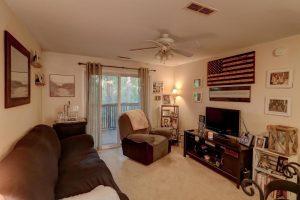 Living room at 1530 Fort Johnson 4G, James Island