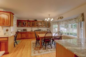Eat-in kitchen at 810 S Channel Court