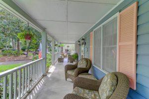 810 S Channel Court front porch