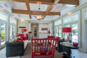 2426 Brigger Hill pool house interior