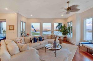 Living room at 1674 Marsh Harbor