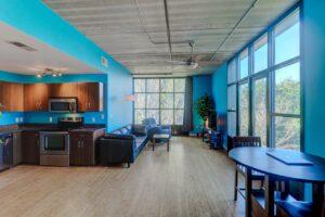 1 Cool Blow open floor plan
