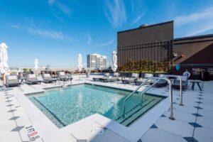 The Gadsden rooftop pool
