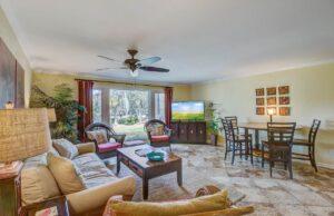 23 Lagoon Villas living room
