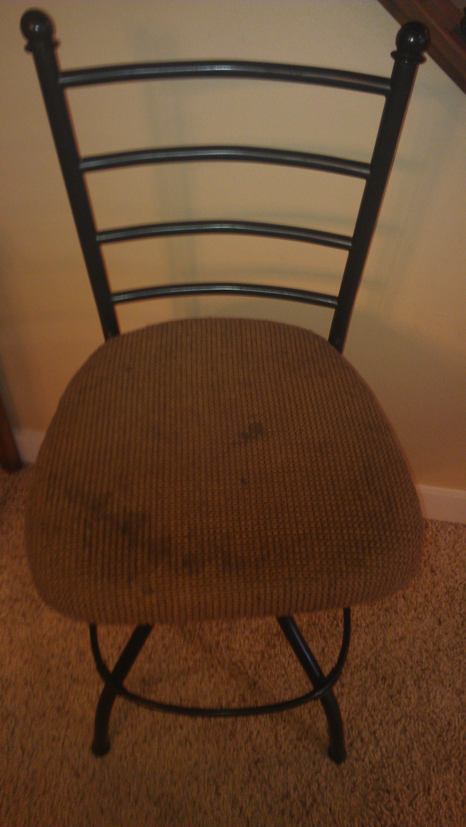 Fine Do It Yourself Project Recovering Bar Stools Boise Real Camellatalisay Diy Chair Ideas Camellatalisaycom