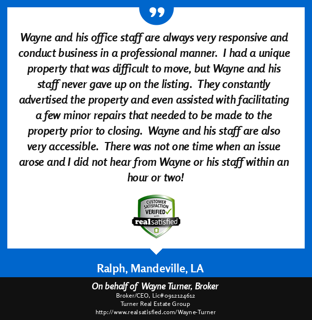 Mandeville, Louisiana Top Real Estate Agent Review