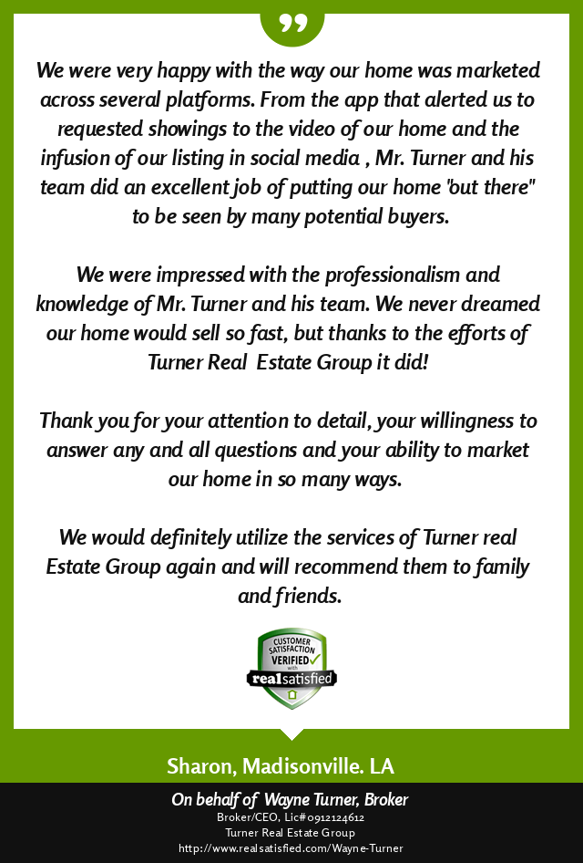 Madisonville, Louisiana Top Real Estate Agent Review