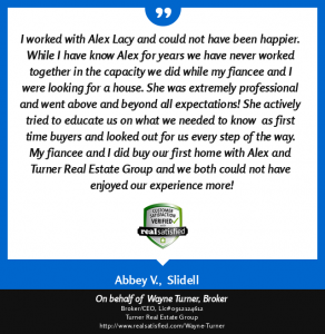 Alex Lacy Turner Real Estate Review
