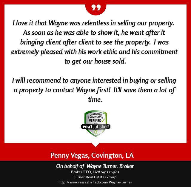 Convington, Louisiana Top Real Estate Agent Review