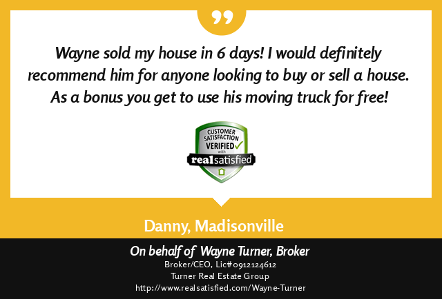 Madisonville, Louisiana Top Real Estate Agent Testimonial