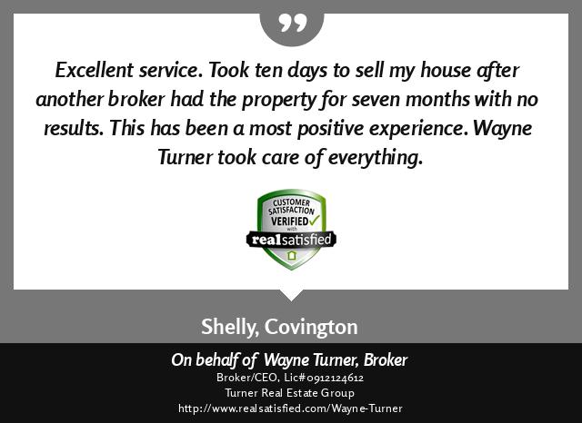 Convington, Louisiana Top Real Estate Agent Testimonial Past Client