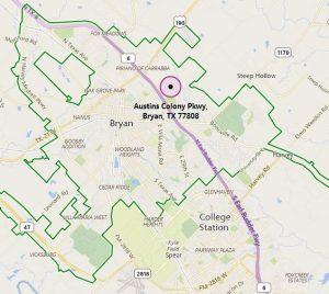 Austin's Colony in Bryan, Texas